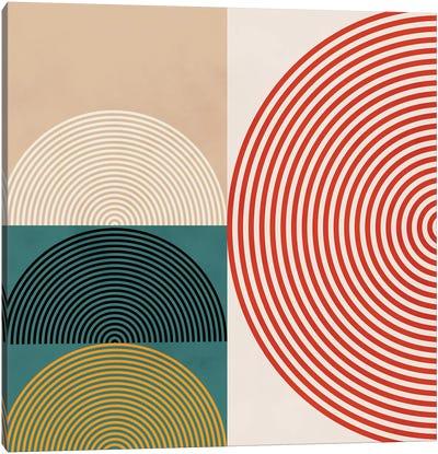 Lines & Shapes III Canvas Art Print