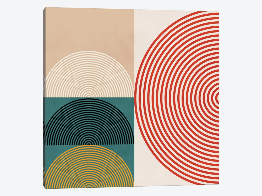 Lines & Shapes III by Ana Rut Bré 1-piece Canvas Art