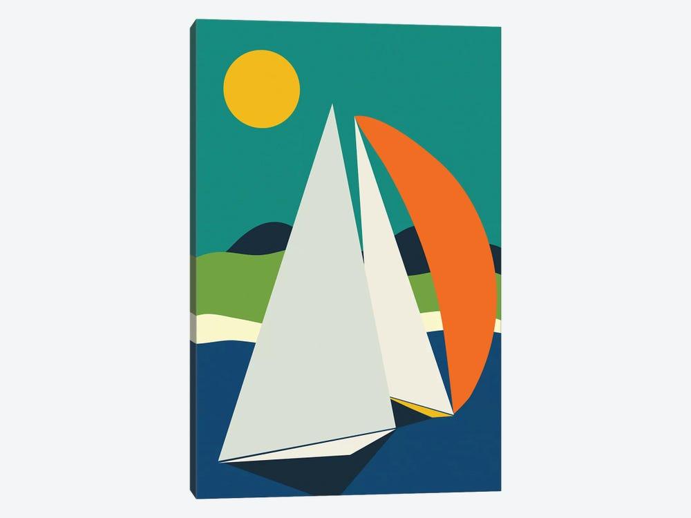 Mid Century Sails by Ana Rut Bré 1-piece Canvas Wall Art