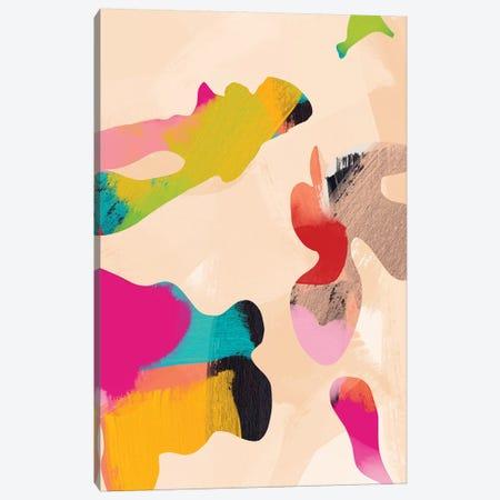 Abstract Bright Color Modern Canvas Print #RTB4} by Ana Rut Bré Canvas Art