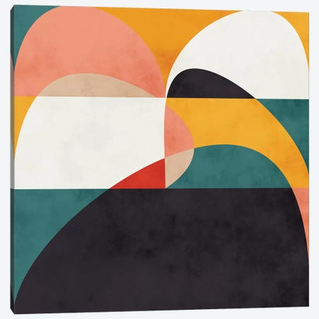 Modern Shapes VI Canvas Print #RTB54} by Ana Rut Bré Canvas Print