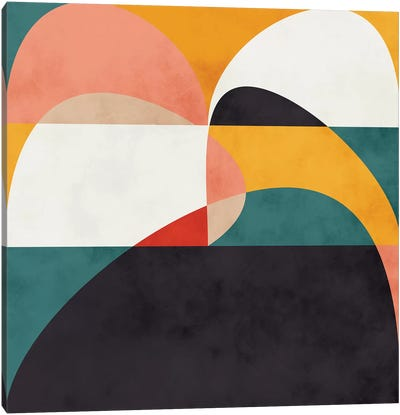 Modern Shapes VI Canvas Art Print
