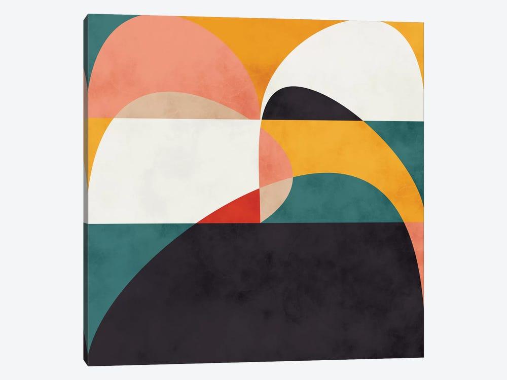 Modern Shapes VI by Ana Rut Bré 1-piece Canvas Print