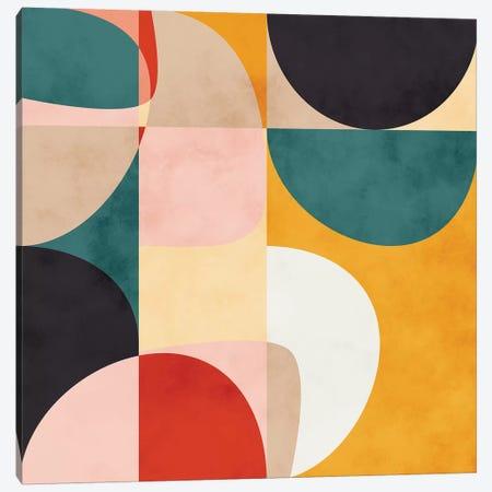 Modern Shapes VII Canvas Print #RTB55} by Ana Rut Bré Canvas Art Print