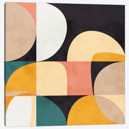 Modern Shapes VIII Canvas Print #RTB56} by Ana Rut Bré Canvas Art Print