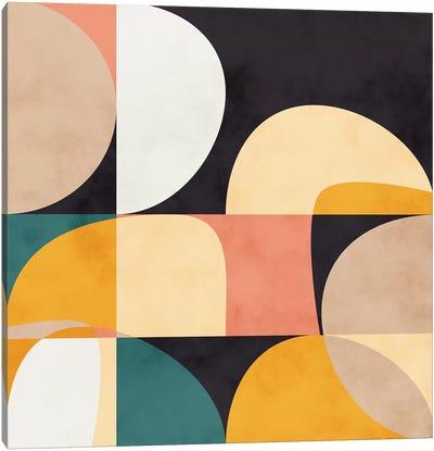Modern Shapes VIII Canvas Art Print