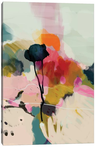 Paysage Abstract Canvas Art Print