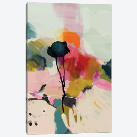Paysage Abstract 3-Piece Canvas #RTB63} by Ana Rut Bré Canvas Print