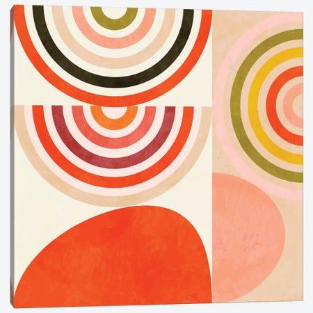 Shapes Abstract III Canvas Print #RTB67} by Ana Rut Bré Canvas Artwork