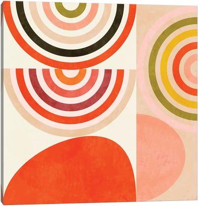 Shapes Abstract III Canvas Art Print