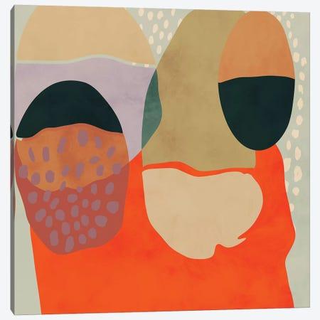 Shapes Abstract Study Canvas Print #RTB68} by Ana Rut Bré Art Print