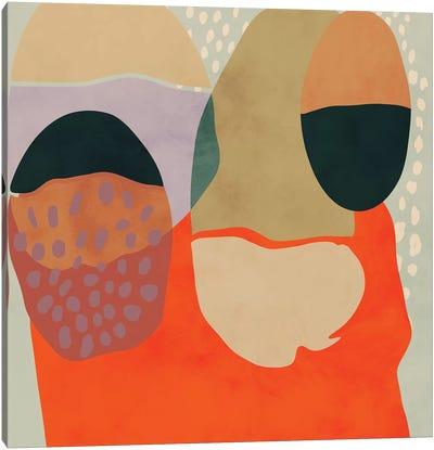 Shapes Abstract Study Canvas Art Print