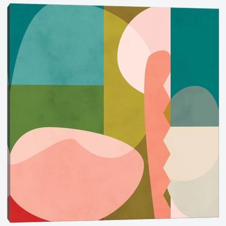 Shapes Geometric Art Mid Century I Canvas Print #RTB71} by Ana Rut Bré Canvas Art