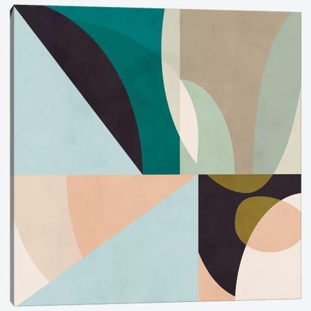 Shapes Geometric Art Mid Century II Canvas Print #RTB72} by Ana Rut Bré Canvas Wall Art