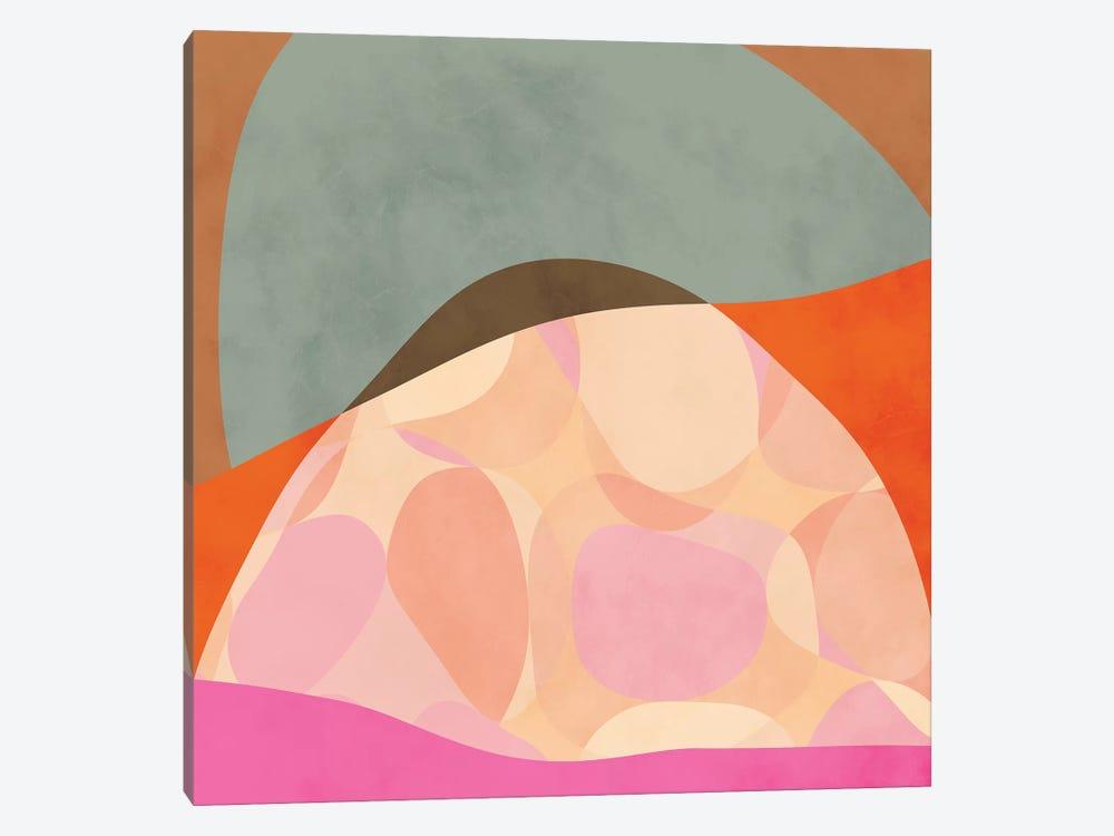 Shapes Study Tartaruga by Ana Rut Bré 1-piece Canvas Artwork