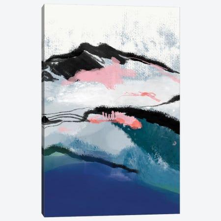 Snow Mountain 3-Piece Canvas #RTB77} by Ana Rut Bré Canvas Art Print