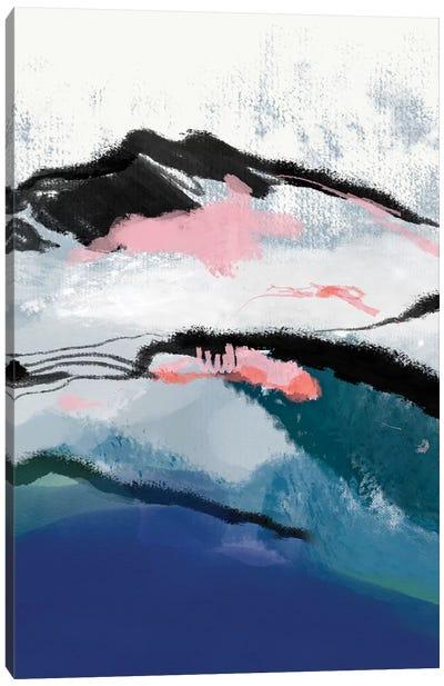 Snow Mountain Canvas Art Print