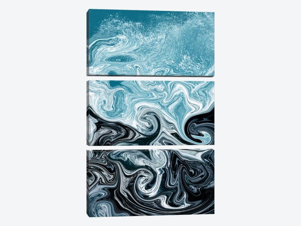 Splash by Ana Rut Bré 3-piece Canvas Art Print