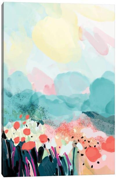Spring Landscape Canvas Art Print