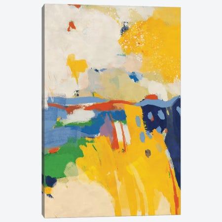 Summer 3-Piece Canvas #RTB84} by Ana Rut Bré Canvas Wall Art