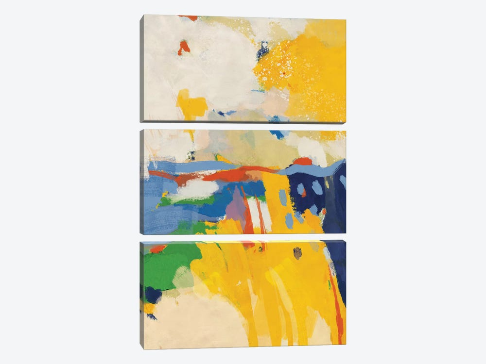 Summer by Ana Rut Bré 3-piece Canvas Art
