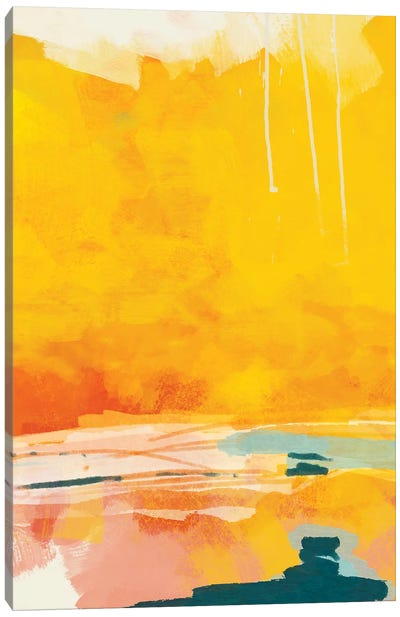 Sunny Landscape I Canvas Art Print