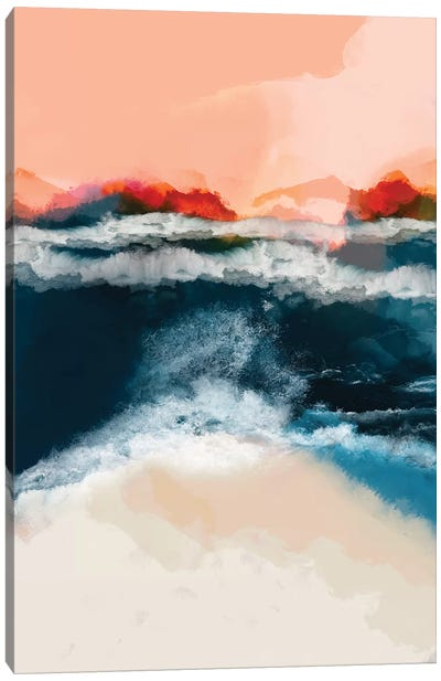 Waterworld I Canvas Art Print