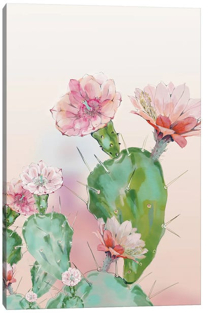 Cactus Canvas Art Print