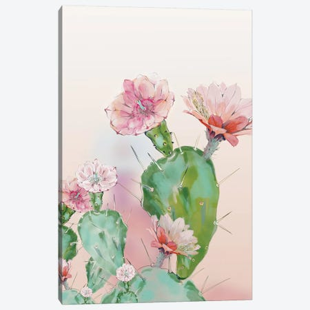 Cactus Canvas Print #RTB8} by Ana Rut Bré Canvas Art Print