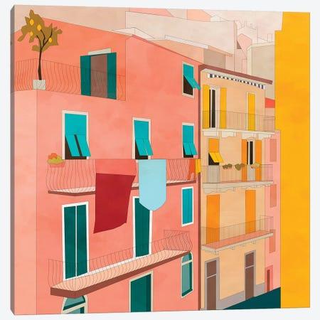 Italy Streetview Canvas Print #RTB96} by Ana Rut Bré Art Print