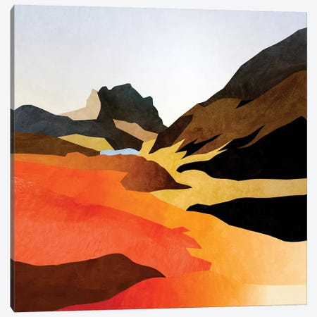 Mountains Landscape Abstract Canvas Print #RTB97} by Ana Rut Bré Canvas Print
