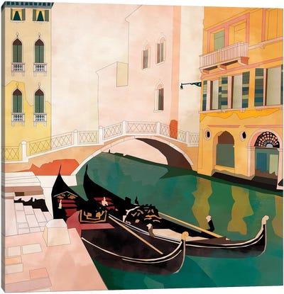 Venice Gondolas I Canvas Art Print
