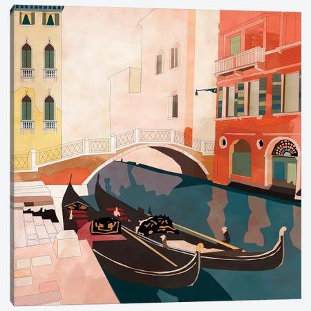Venice Gondolas II Canvas Print #RTB99} by Ana Rut Bré Canvas Art
