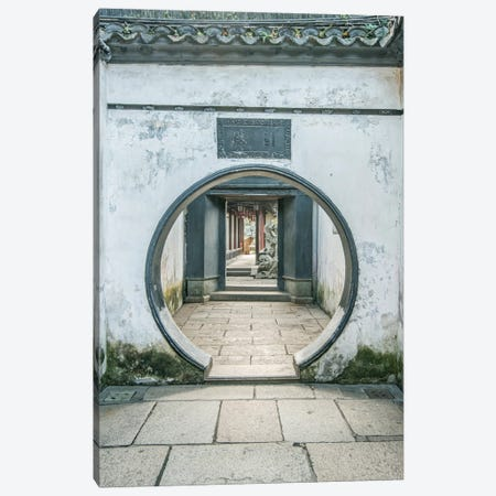 China, Shanghai. Yu Garden. Canvas Print #RTI31} by Rob Tilley Art Print