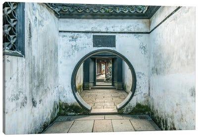 China, Shanghai. Yu Garden. Canvas Art Print