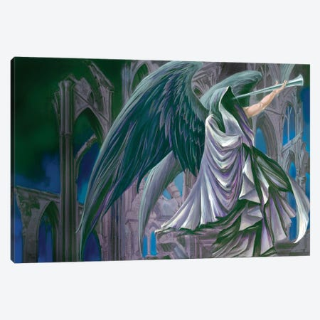 Armageddon Canvas Print #RTP10} by Ruth Thompson Canvas Art