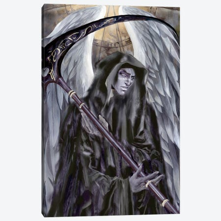 Azriel Portrait Canvas Print #RTP12} by Ruth Thompson Canvas Art