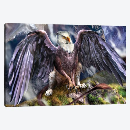 The Warchief Canvas Print #RTP134} by Ruth Thompson Canvas Print
