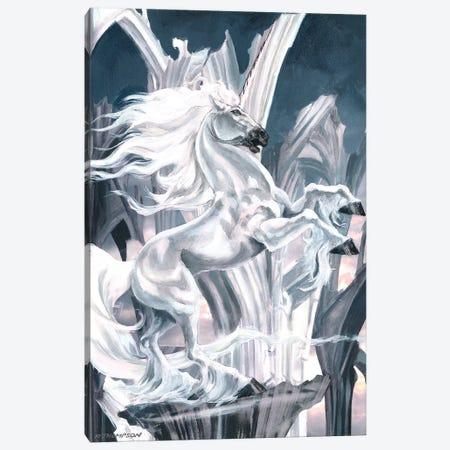 The White Knight Canvas Print #RTP135} by Ruth Thompson Canvas Art Print