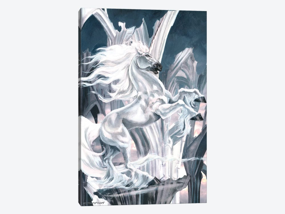 The White Knight by Ruth Thompson 1-piece Canvas Wall Art