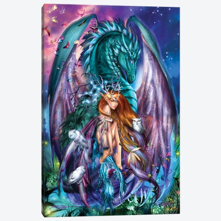 Virgo Canvas Print #RTP147} by Ruth Thompson Canvas Art