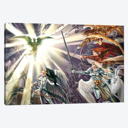 War In Heaven Canvas Print #RTP149} by Ruth Thompson Canvas Art Print