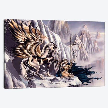Winter's Sorrow Ii Canvas Print #RTP157} by Ruth Thompson Canvas Print