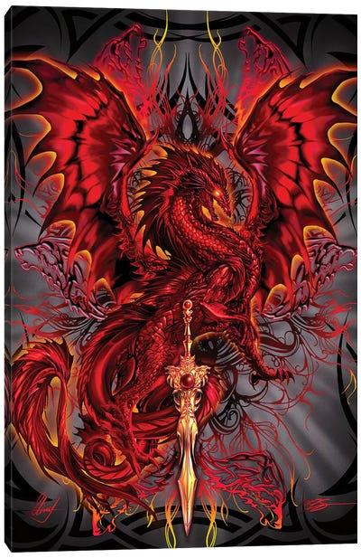 Bloodblade Canvas Art Print