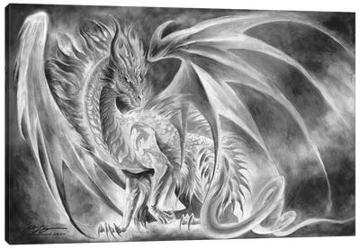 Coldfire Canvas Art Print