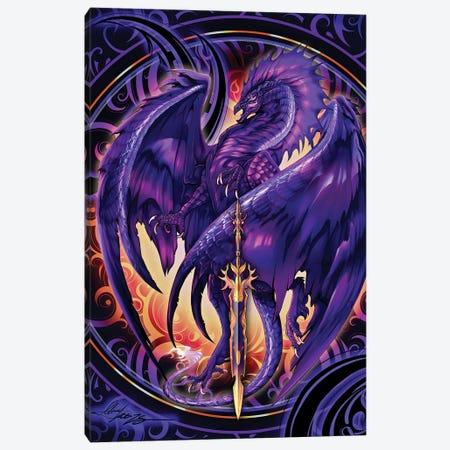 Dragonblade Netherblade Canvas Print #RTP165} by Ruth Thompson Canvas Art