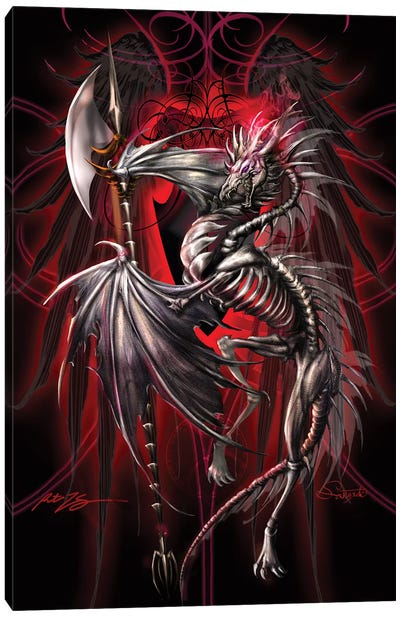 Dragonsword Lichblade Canvas Art Print