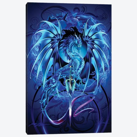 Dragonsword Seablade Canvas Print #RTP168} by Ruth Thompson Art Print