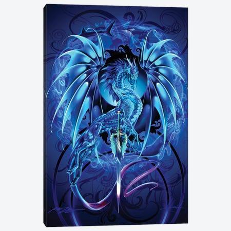 Dragonsword Seablade Canvas Print #RTP168} by Ruth Thompson Art Print