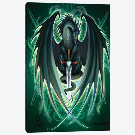 Dragonsword Skullblade Canvas Print #RTP169} by Ruth Thompson Canvas Art Print